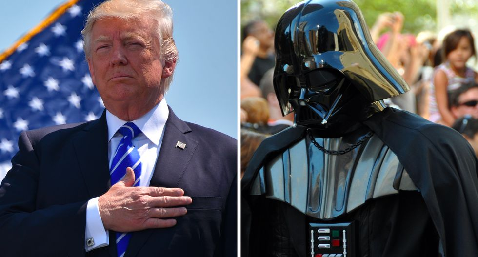 'Darth Trump' is pushing to turn space into a war zone