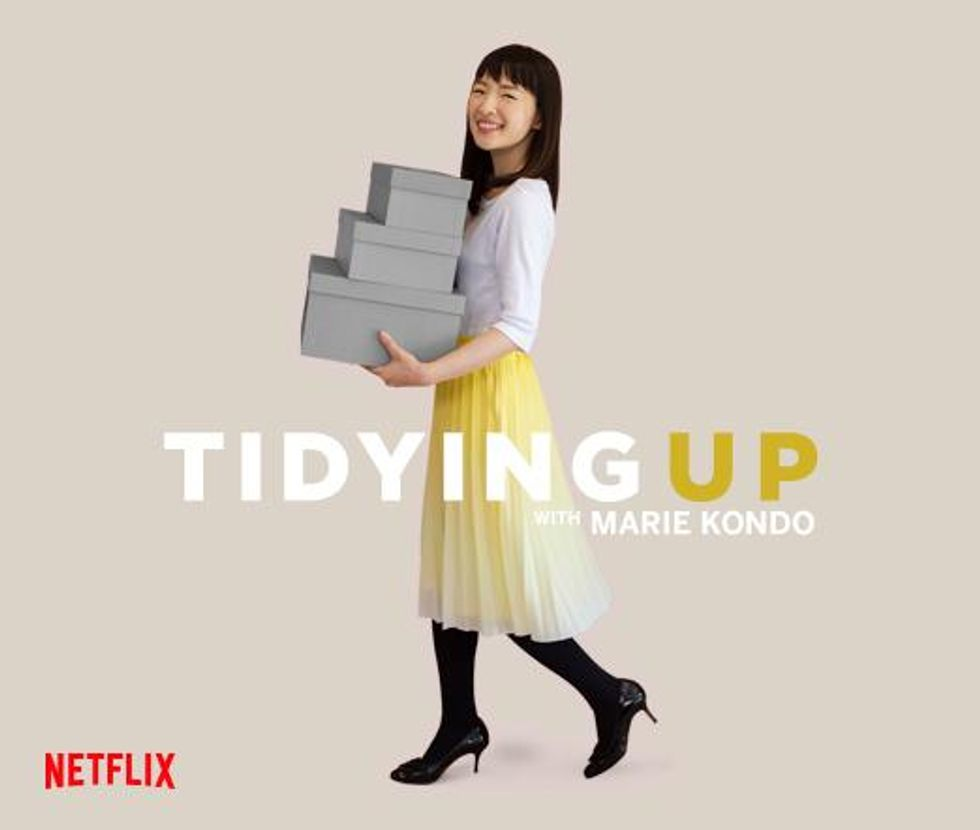 A psychologist examines the latest obsessive self-help craze: Netflix's KonMari method of home organizing