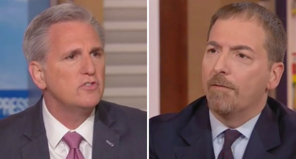 'He didn't shut it down': GOP leader claims Trump never shut down government — and NBC's Chuck Todd crushes him