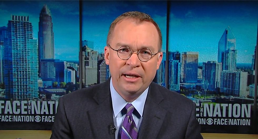Mulvaney: Trump is 'really prepared' to shut down the government despite outrage
