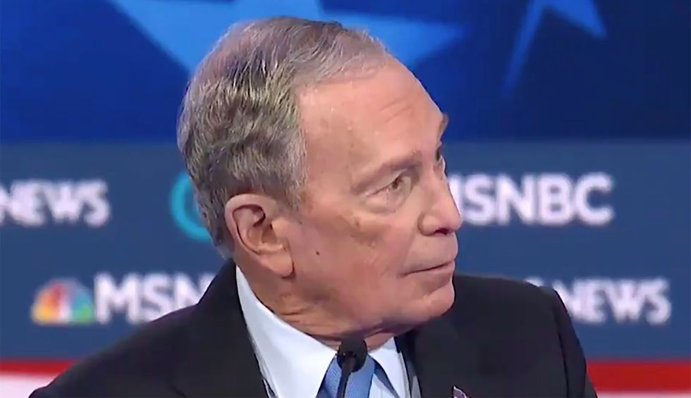 'Propaganda': Bloomberg criticized for posting 'hoax' clip of his debate performance to make himself look better
