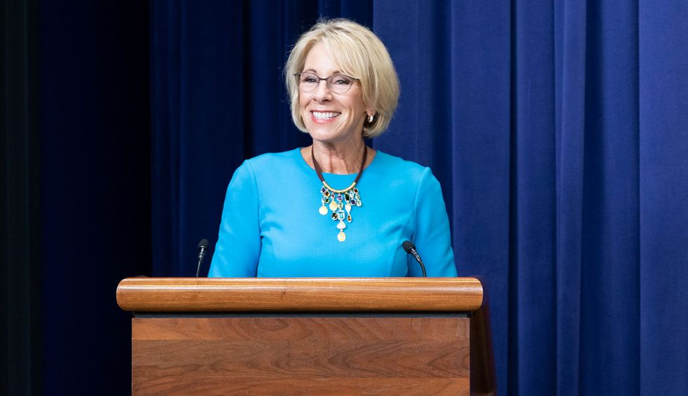 Betsy DeVos unveils new Title IX rules that may make it harder to report sexual assault or harassment