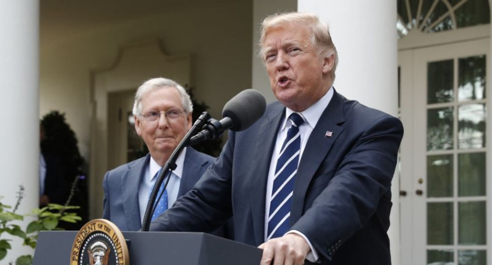 Trump called McConnell 'mean as a snake' for wanting to beat conservative Democrats rather than work with them: report