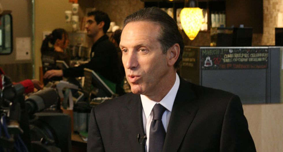 Internet explodes in anger as Howard Schultz announces presidential run: 'Patriotism should put limits even on ego'