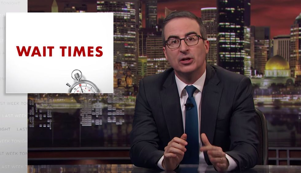 Comedian John Oliver champions Medicare for All with expert takedown of right-wing talking points