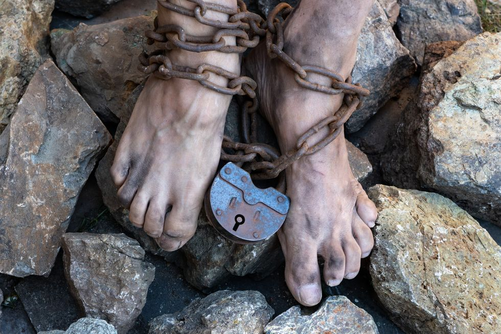 Slavery is not a crime in almost half the countries of the world – new research
