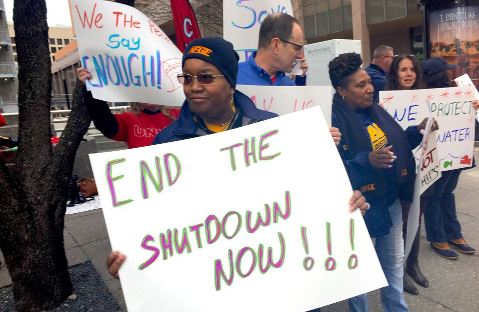 How the government shutdown exposed the lie at the heart of the anti-union 'right-to-work' movement