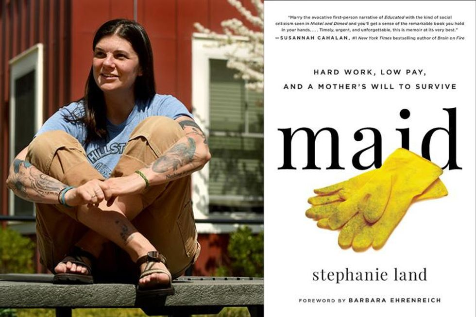 'There's no way to save up money': 'Maid' author Stephanie Land on the rigged math of being poor