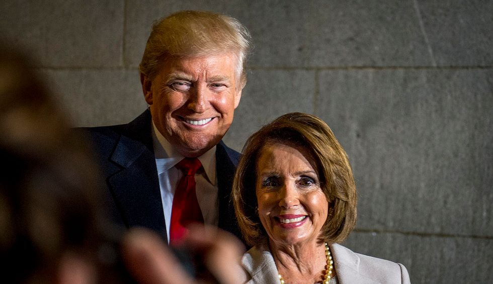 Why is Nancy Pelosi protecting Donald Trump?