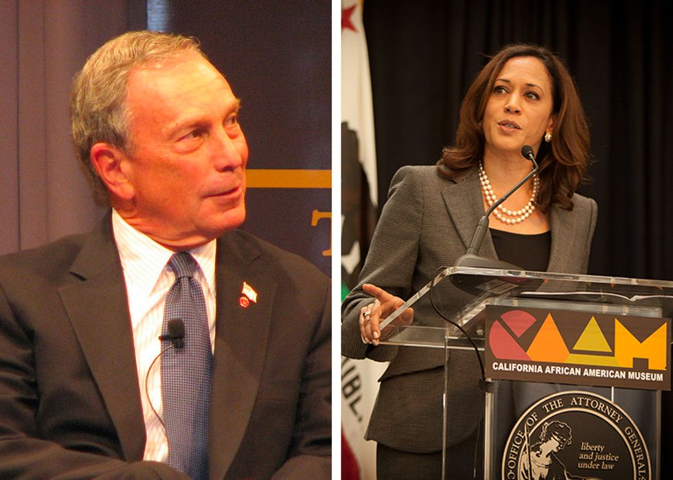 Bloomberg offers fact-free Medicare for all fearmongering after Harris says 'eliminate' for-profit insurance