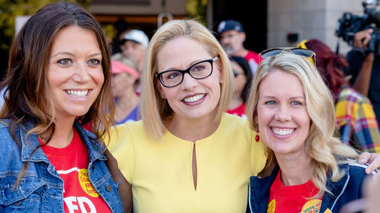 Sinema slammed after spokesperson says it's sexist to critique her 'thumbs down' vote against $15 minimum wage