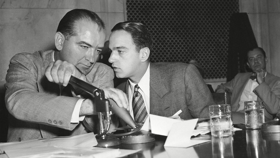 """""""Where's my Roy Cohn?"""": New documentary explores how Joseph McCarthy's ex-aide mentored Donald Trump and Roger Stone"""