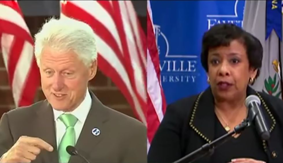 Scandal-starved Fox News hypes old story on Clinton and AG Lynch