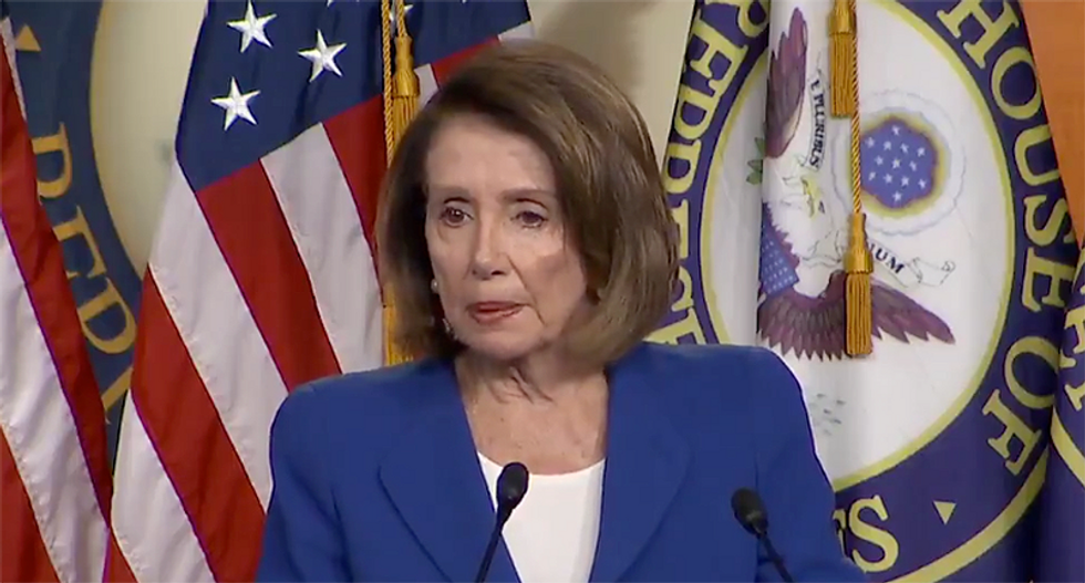 'There's not going to be any wall money': Nancy Pelosi just held an epic press conference — and it did not disappoint
