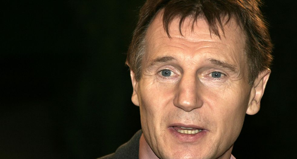 Actor Liam Neeson admits he once roamed the streets looking for a 'black bastard to kill' after a friend said she was raped