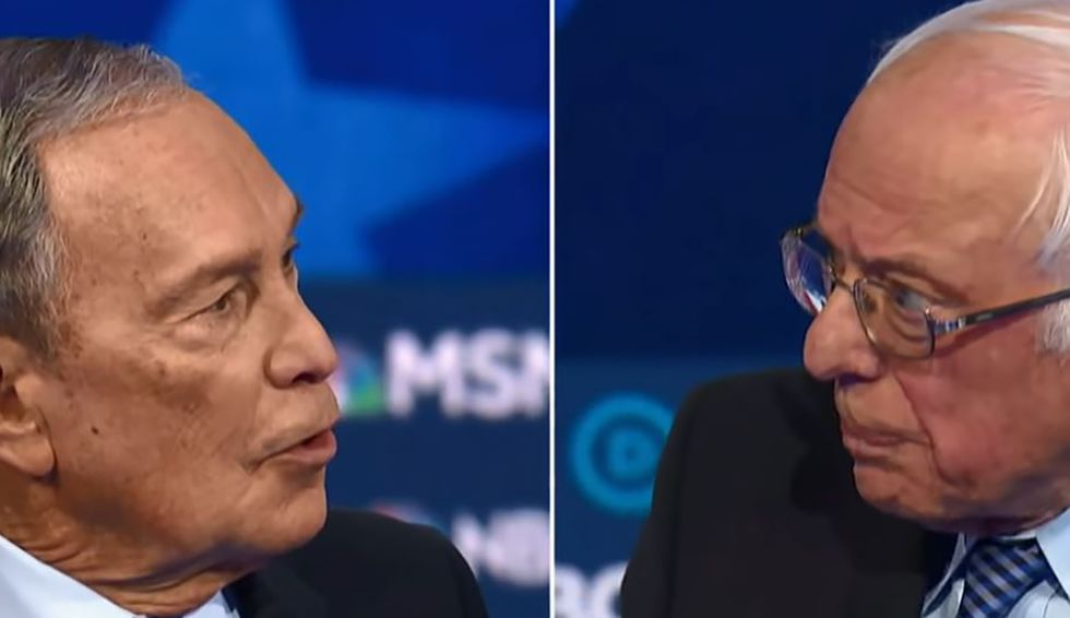 Bloomberg planning all-out media assault on Sanders ahead of Super Tuesday: 'The people versus the oligarch'
