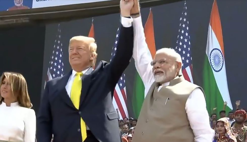 Trump slammed over 'incoherent' India press conference: 'An international disgrace'