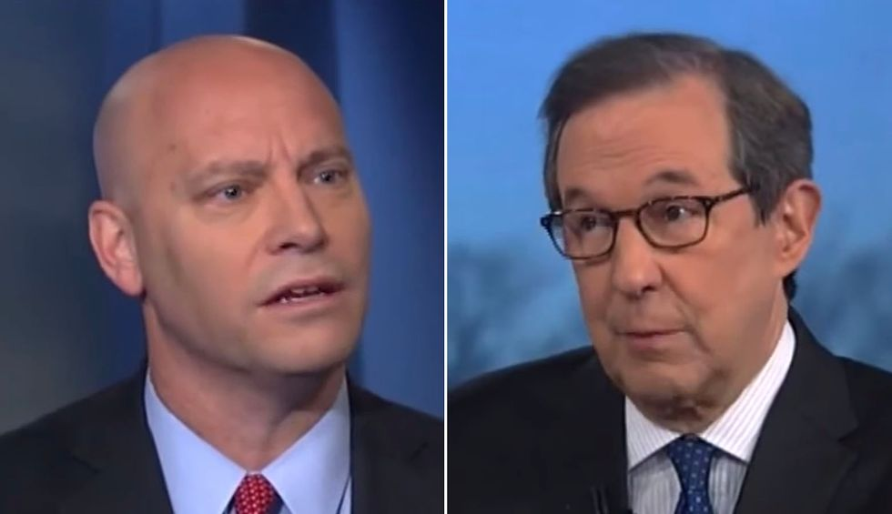 Chris Wallace corners Pence aide on Russia attacks: 'You can't say it didn't happen — and then say they leaked it'