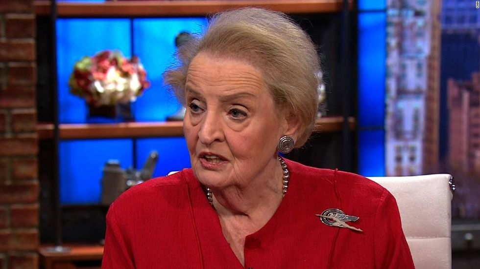 Madeleine Albright on criticizing Israel without being anti-Semitic