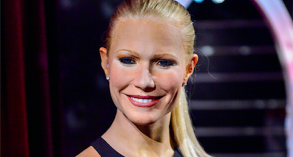 Gwyneth Paltrow is a human after all?