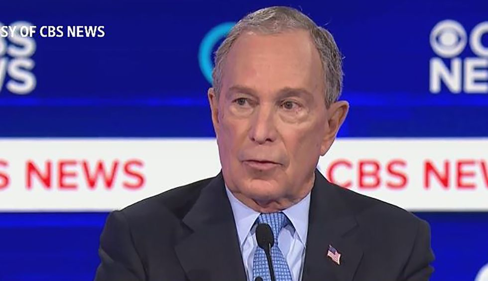 Bloomberg almost admits he 'bought' members of Congress