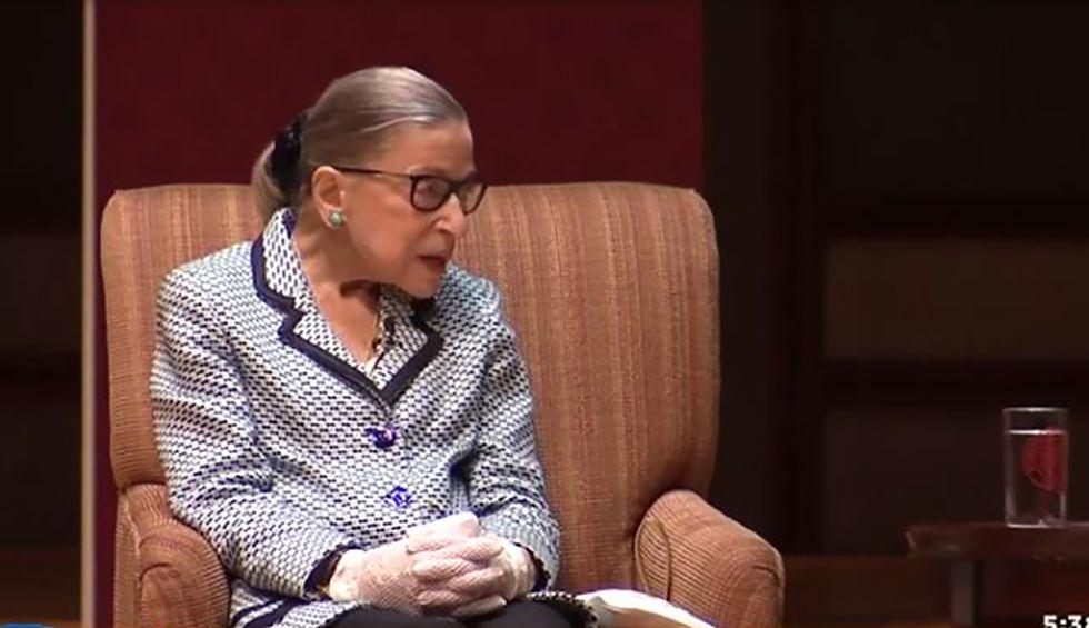 Justice Ruth Bader Ginsburg burns DOJ's solicitor general during landmark Trump tax return case: audio