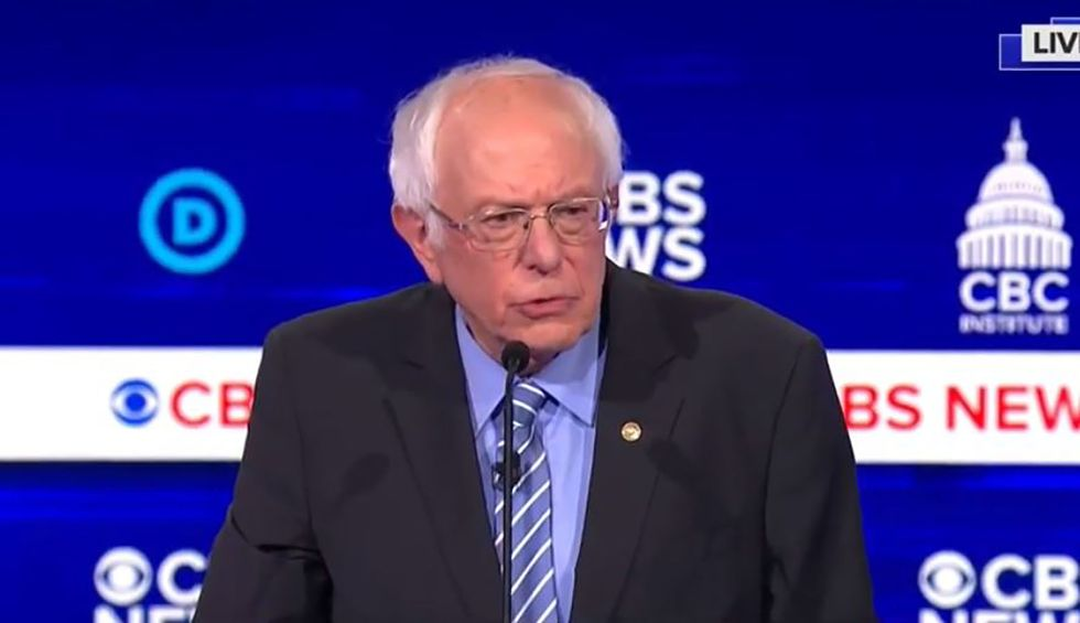 Bernie Sanders knocks self-described 'great genius' Trump on his lies about the coronavirus