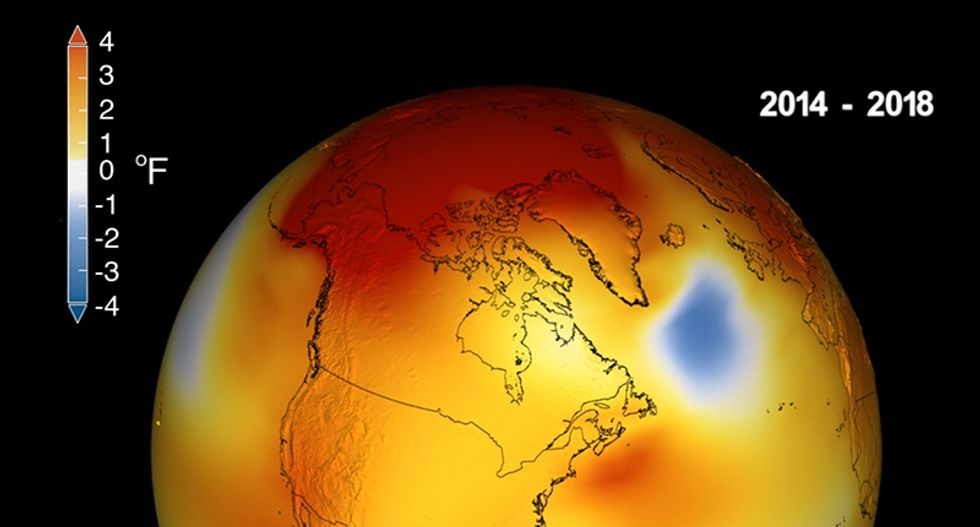 'A red screaming alarm bell': NASA confirms last five years were the hottest on record