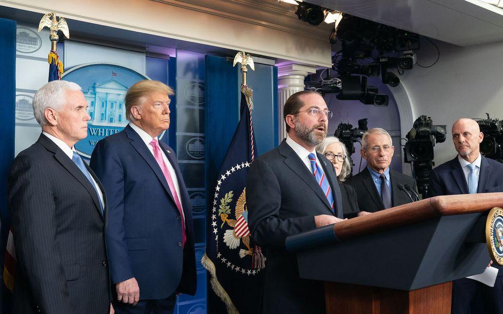 Here's the 'original sin' of Trump's 'failed US response' to coronavirus