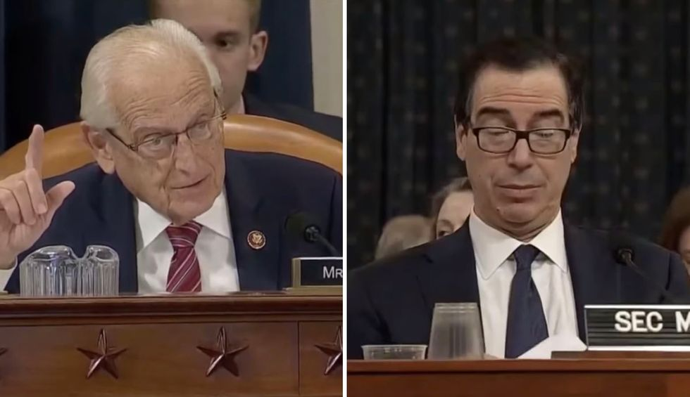 Sparks fly at Steve Mnuchin hearing: 'The only thing you suffer is smug rhetoric and staggering lies'
