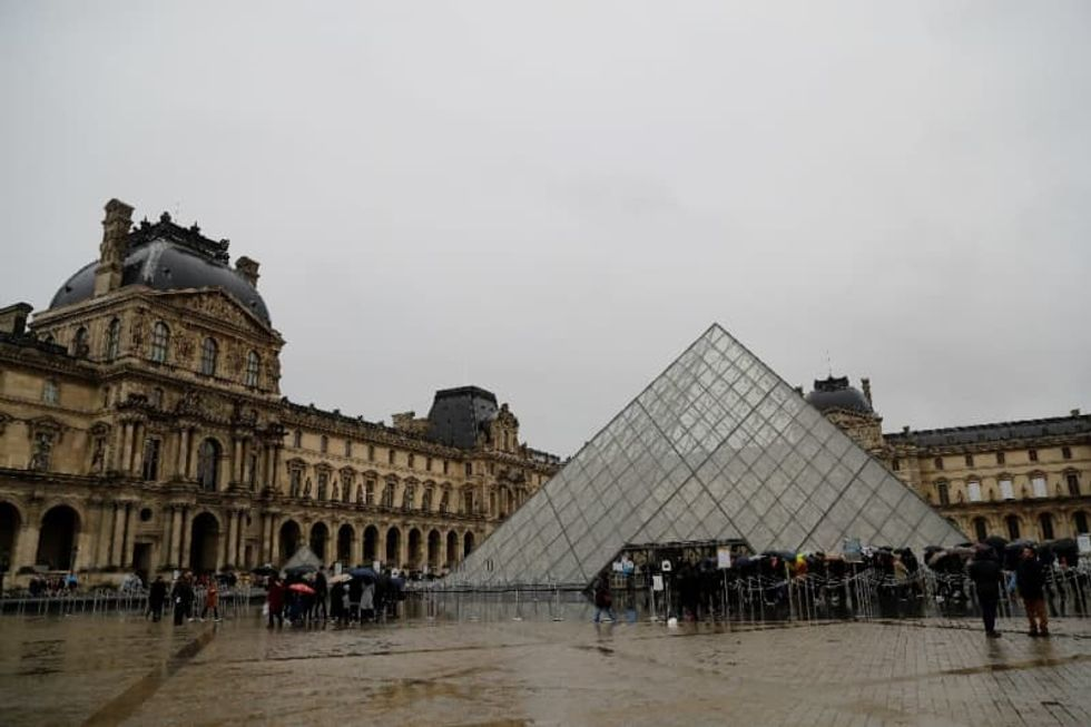 France closes Louvre as coronavirus cases mount in Europe