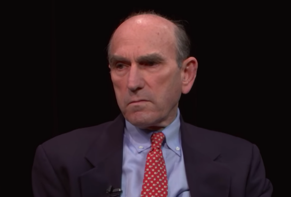 How Elliott Abrams found himself at the center of a dark Reagan-era conspiracy to spring a CIA-linked trafficker