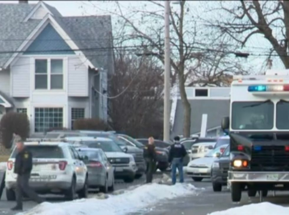 Five dead, police officers injured in mass shooting at manufacturing plant outside Chicago