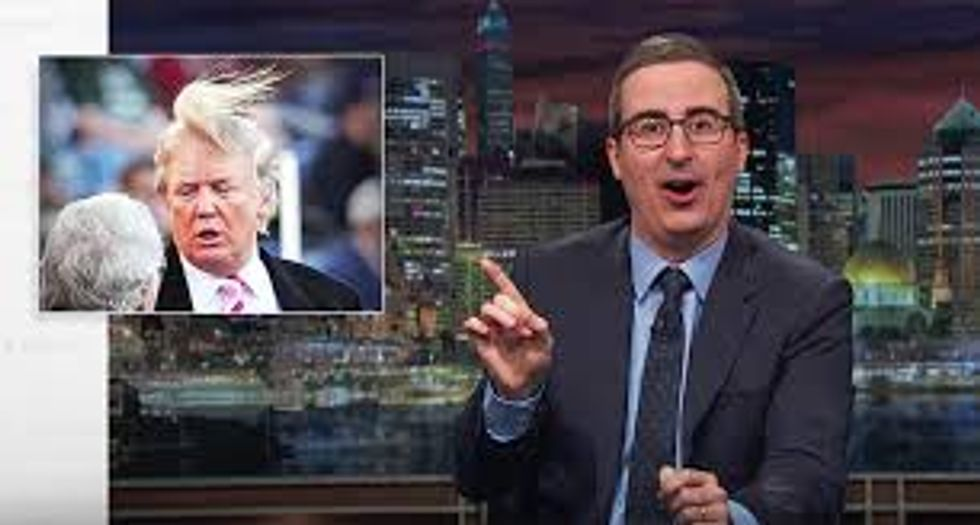 John Oliver shreds Trump's 'bullsh*t nonsense' — and reveals why he would never interview him