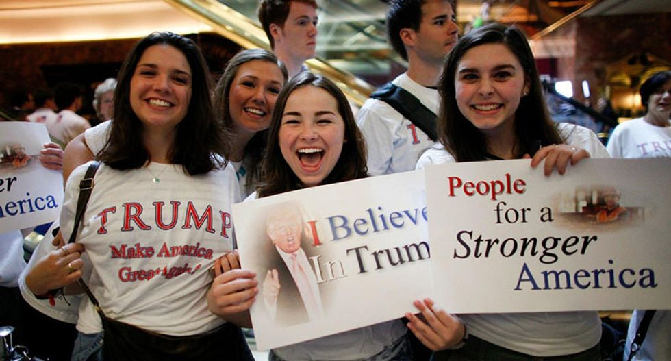 Paradox: Here's the bizarre reason why white evangelical women love Donald Trump