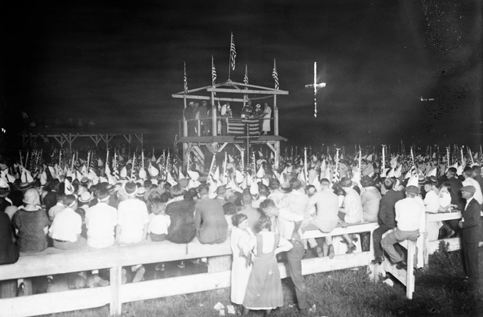 'Time for the Ku Klux Klan to night ride again': Alabama newspaper runs repulsive editorial urging the KKK to target Democrats