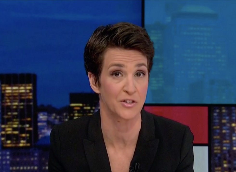 MSNBC's Rachel Maddow argues the 'shaky policy' that presidents can't be indicted was crafted with dubious origins