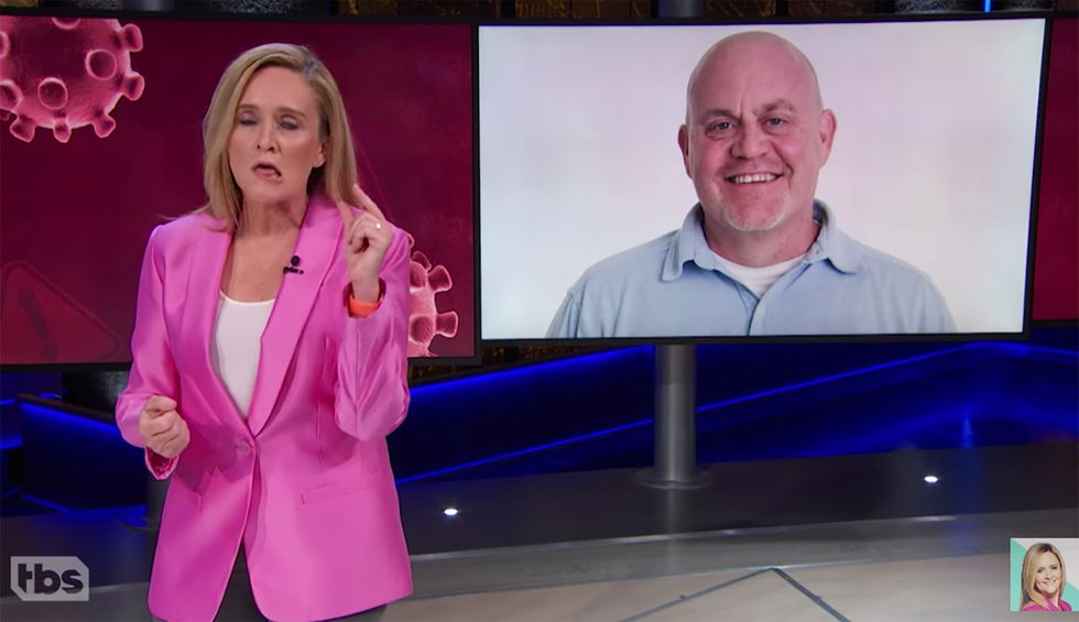 Samantha Bee slams Fox News for bombarding viewers with blatantly 'racist' coverage of coronavirus: 'Using Asian people as scapegoats'