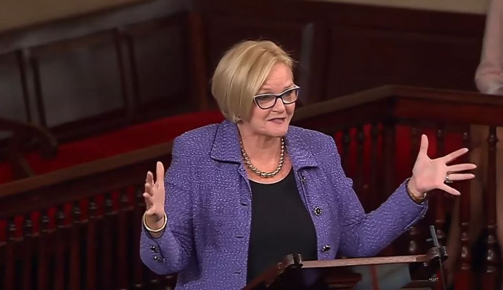 Claire McCaskill drops the hammer on 'embarrassing tool' Ron Johnson for going after Hunter Biden