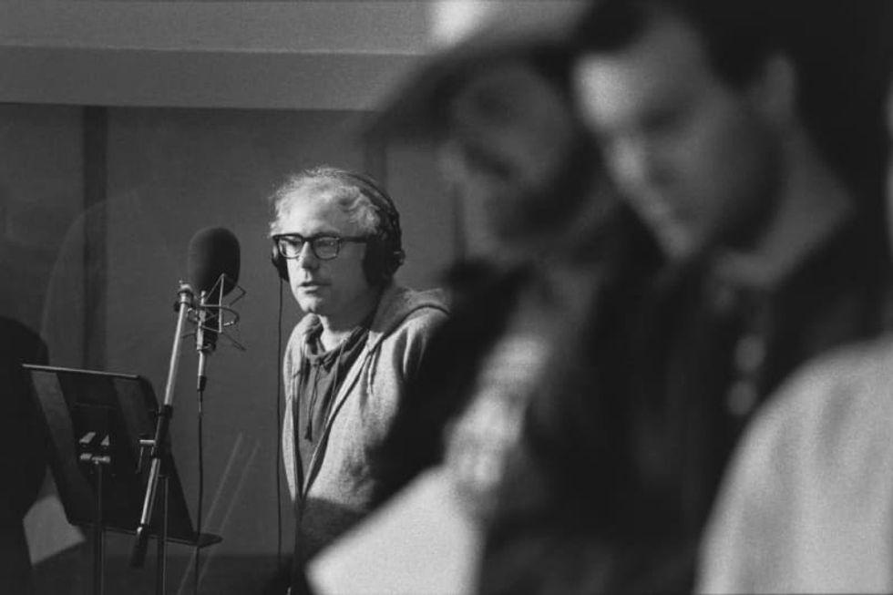 When Bernie Sanders was a folk troubadour