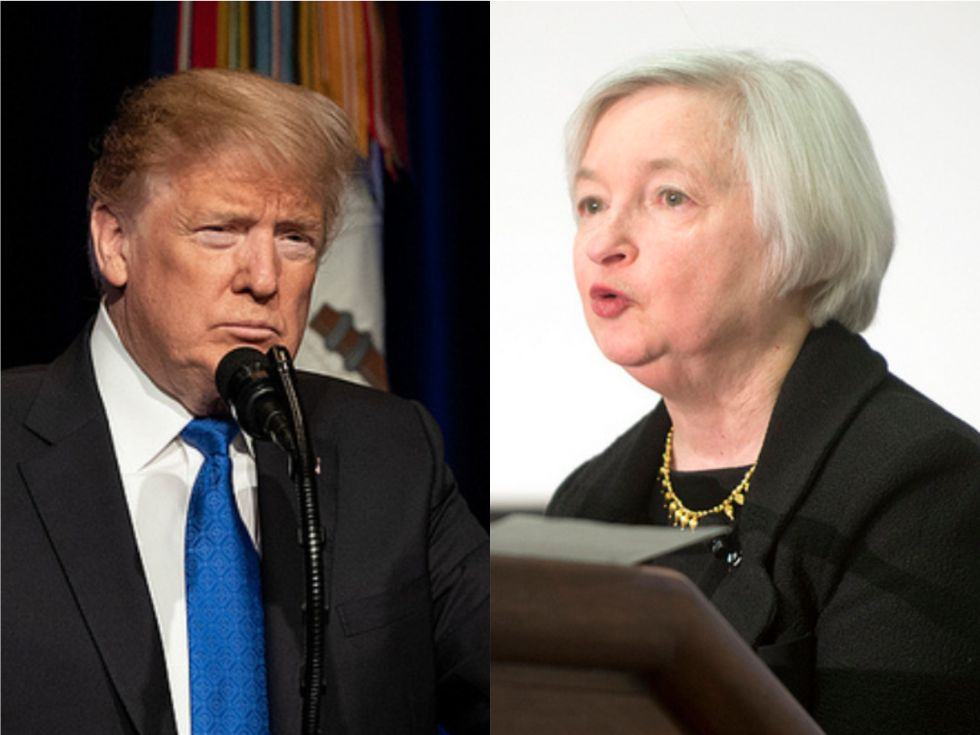 Former Fed chair explains how Trump doesn't 'grasp' basic facts about U.S. economic policy