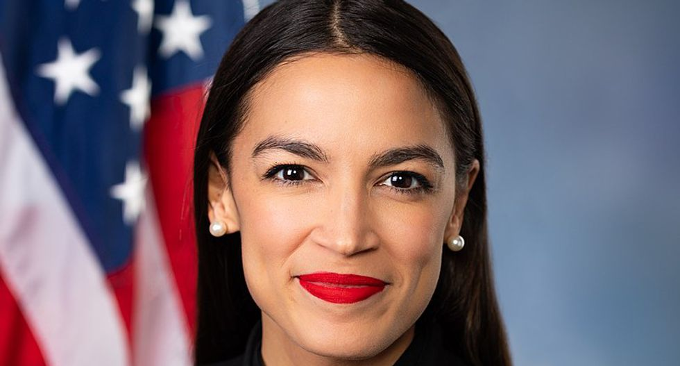 Ocasio-Cortez explains why a living wage for staff is 'common-sense' policy