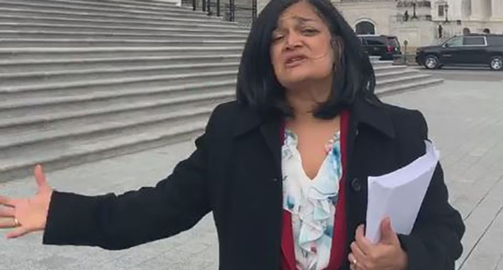 Jayapal confronts top Pelosi aide over 'inappropriate' effort to undermine Medicare for All