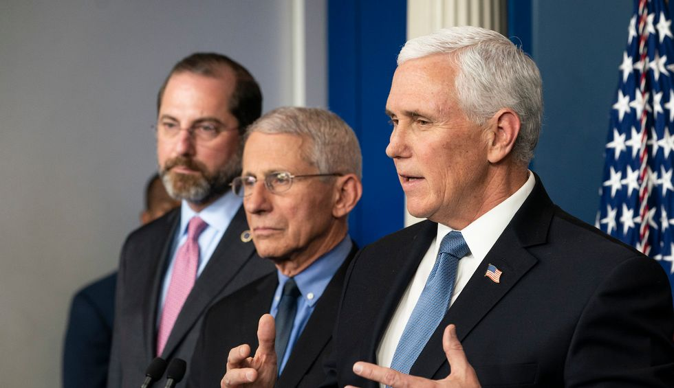 The White House is trying to clean up Trump's horrifying admission about testing — but Mike Pence confirmed the worst: report