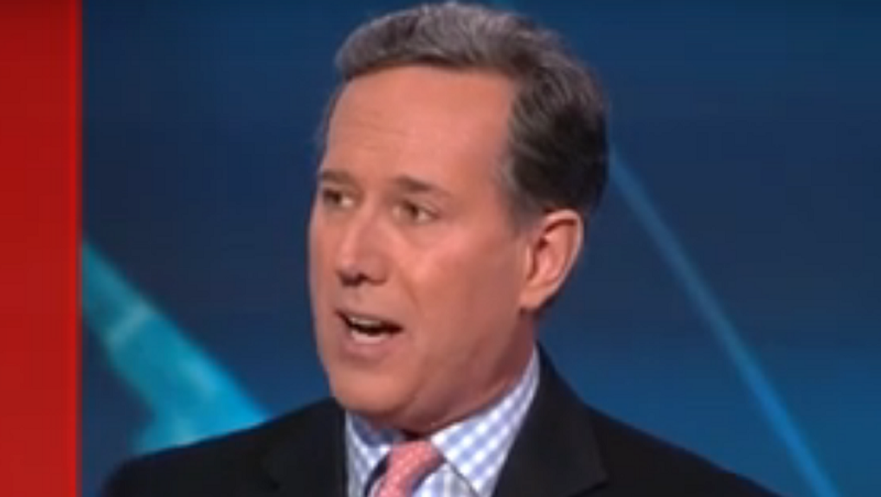 CNN fires Rick Santorum fired over his racist comments about Native Americans