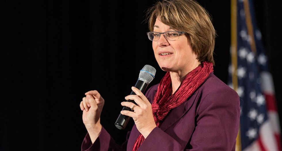 Is Amy Klobuchar is being smeared by sexist 'mean boss' stories?