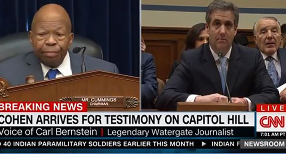 WATCH: Trump-loving congressmen immediately tries to curtail Cohen hearing — and quickly fails