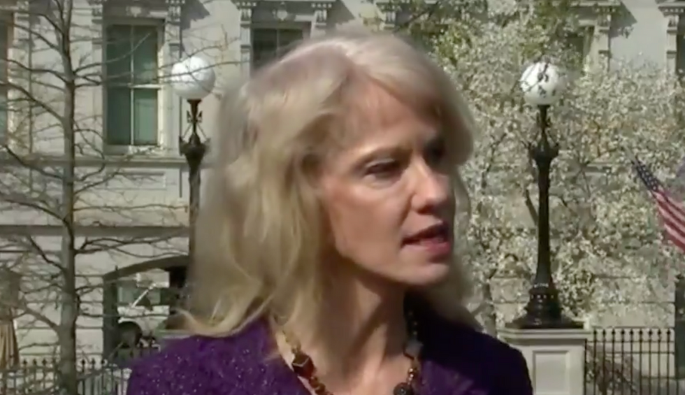 Kellyanne Conway feuds with journalists over coronavirus slur: 'I'm married to an Asian'