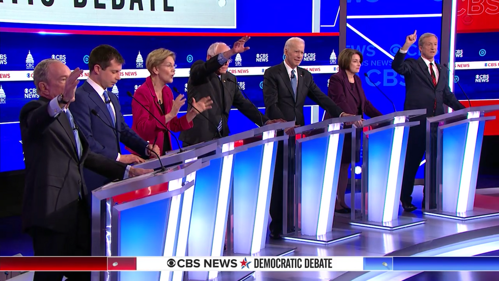 There were zero winners and lots of losers at the Democratic presidential primary debate