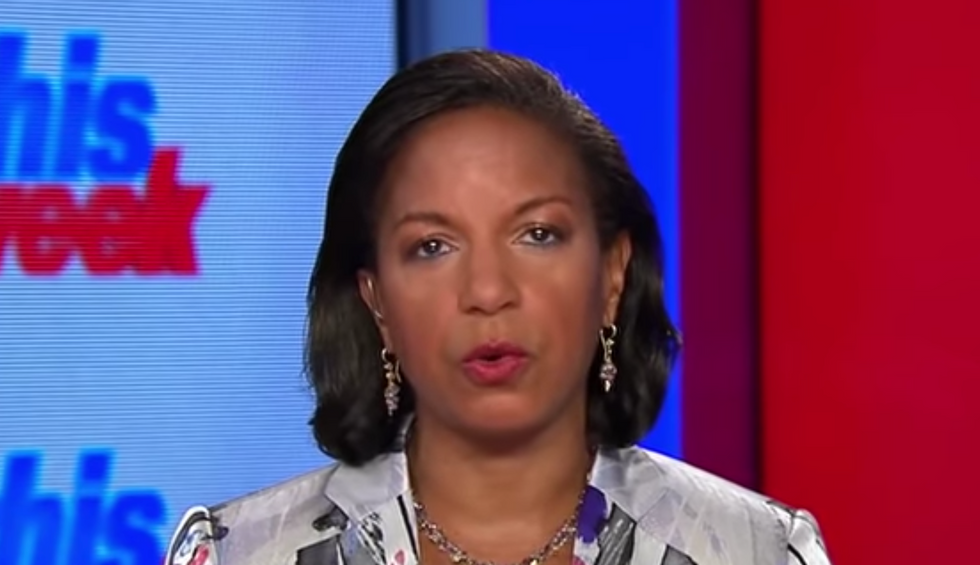 'Well, that's just false!': Ex-Obama official Susan Rice demolishes Trump's claim that no one foresaw a pandemic